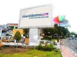 harga videotron, iklan videotron, jual videotron, pencemaran, sampah, Indonesia